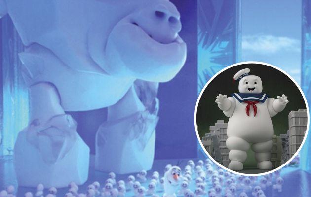 Merengue, en 'Frozen 2', y Hombre Malvavisco, en 'Cazafantasmas'.