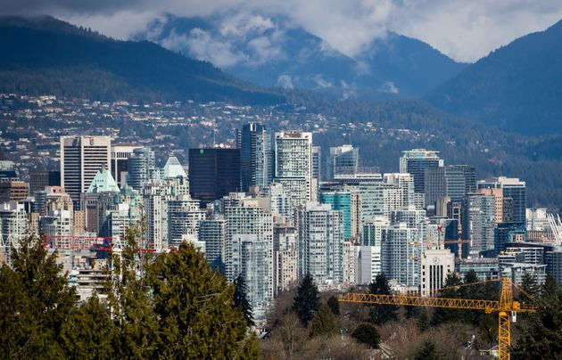 A portion of Vancouver's skyline is seen here in March 2018. The city is seeing a housing market rebound...