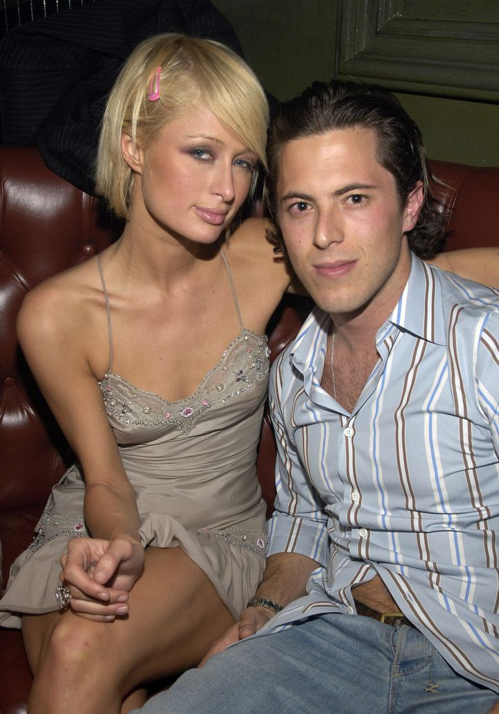 Paris Hilton and Harry Morton in an undated photo taken at the Hard Rock Hotel & Casino in Las Vegas. The two reportedly