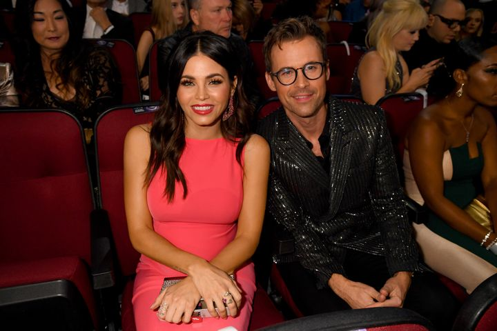 Jenna Dewan and Brad Goreski attend the 2019 American Music Awards at Microsoft Theater on Nov. 24 in Los Angeles.