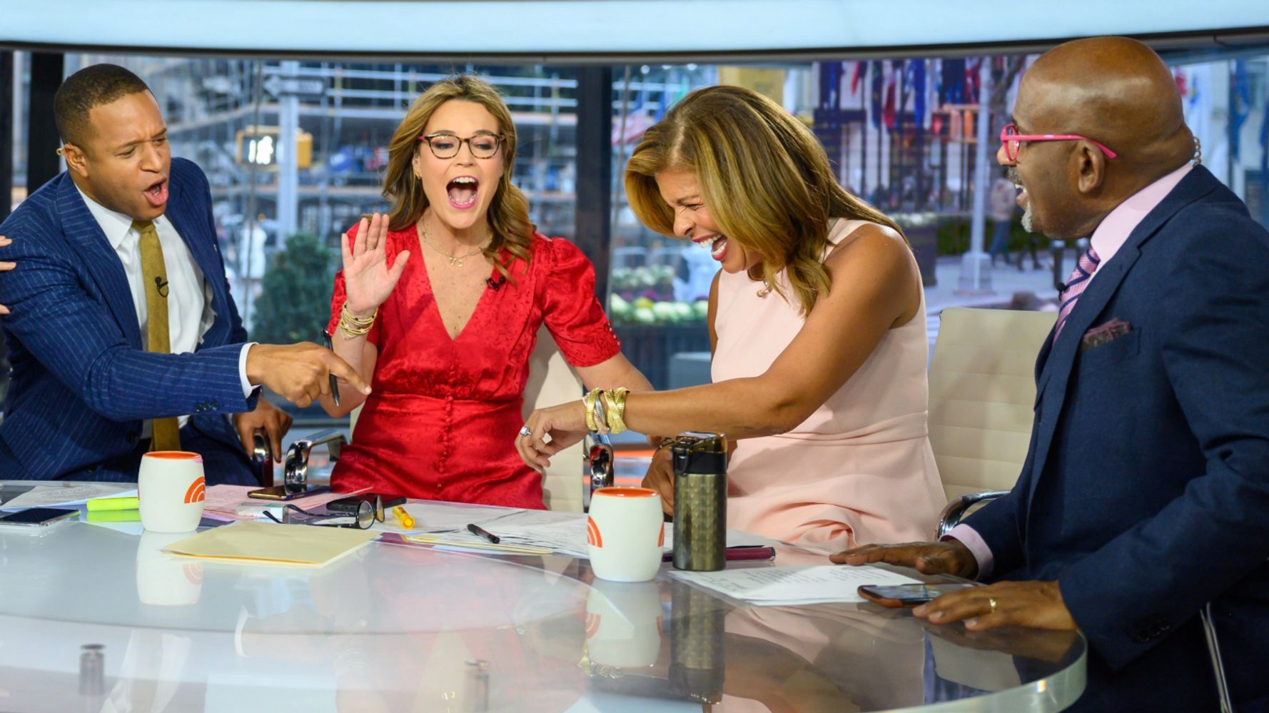 Westlake Legal Group 5ddc0484210000ab9834dfc4 Hoda Kotb Shocks 'Today' Colleagues By Announcing She's Engaged On Air