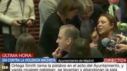 A Julia Otero le basta una palabra para resumir esta escena de Ortega