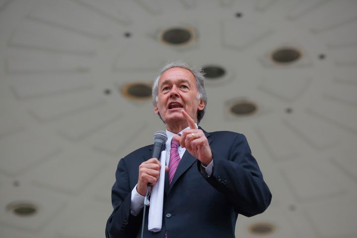 Sen. Ed Markey (above) is facing a tough primary challenge from Rep. Joe Kennedy III.
