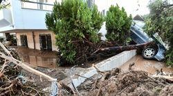 Νεκρή γυναίκα από την κακοκαιρία στη Ρόδο - Καταιγίδα προβλημάτων έφερε ο