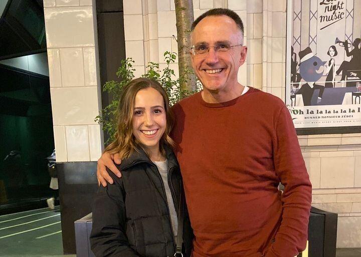 Mark Simmonds et sa fille Emily