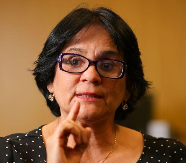 Damares Alves, a ministra da Mulher, da Família e Direitos Humanos do governo de Jair