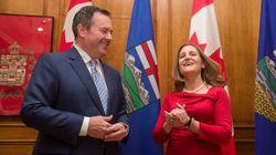 Freeland Tries To Find 'Common Ground' With Alberta Premier Jason