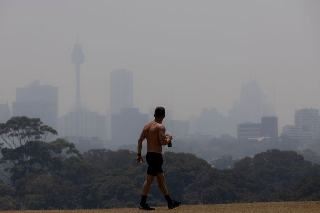 The health impact of bushfire smoke can vary based on a person's pre-existing