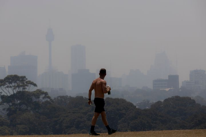 The health impact of bushfire smoke can vary based on a person's pre-existing conditions.