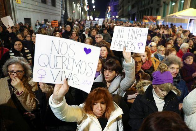 Manifestación del 25-N en