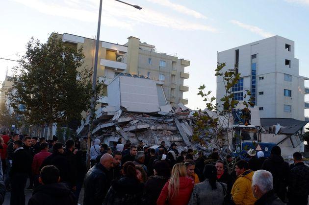 En Albanie, un séisme fait plusieurs morts et au moins 150