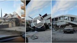 Dopo il terremoto restano le macerie in Albania. L'hotel è completamente distrutto
