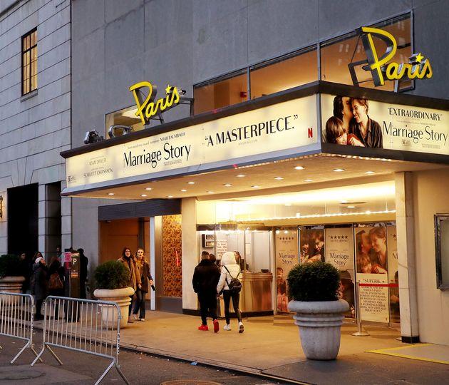 Ο ιστορικός κινηματογράφος «Cine Paris» στη Νέα Υόρκη