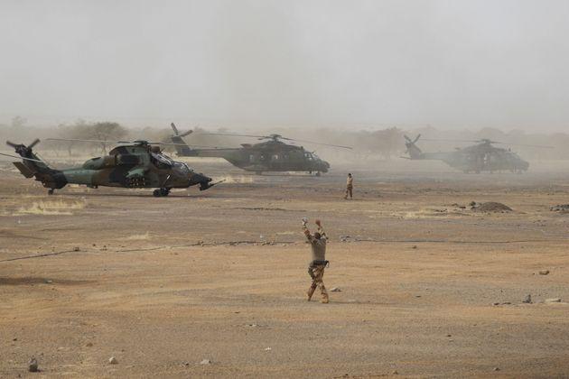 Un hélicoptère Tigre déployé dans le cadre de l'opération