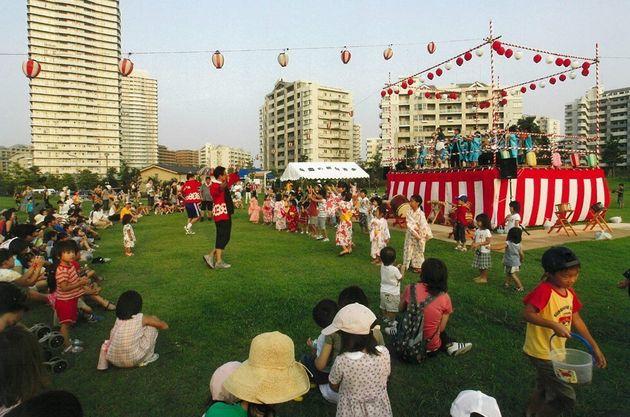 「ミクストコミュニティ」実現のため、地域住民らと協力してイベントの開催なども行なっている