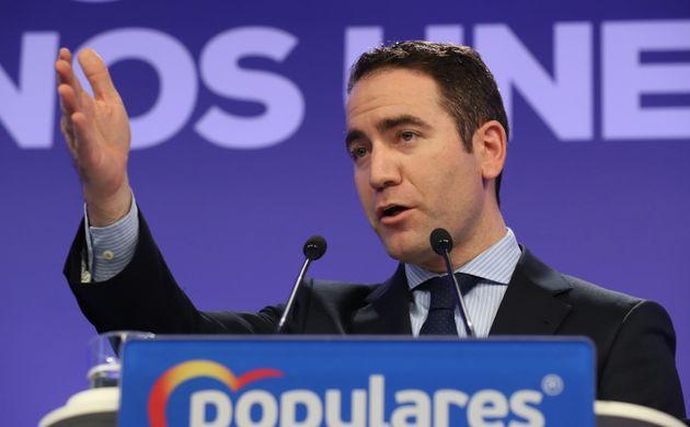 El secretario general del Partido Popular, Teodoro García