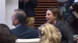 Ortega Smith (Vox) pide disculpas tras acusar a laSexta de organizar la bronca con una víctima de violencia
