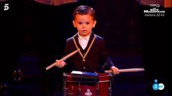 Hugo Molina, el niño de dos años, hace historia en 'Got Talent':