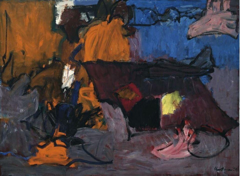 Grace HartiganIrlandaIreland, 1958Olio su tela / Oil on canvas200 x 271 cmCollezione Peggy Guggenheim, Venezia