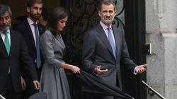 Las fotos del rey Felipe VI y Letizia que en Reino Unido hubiesen generado
