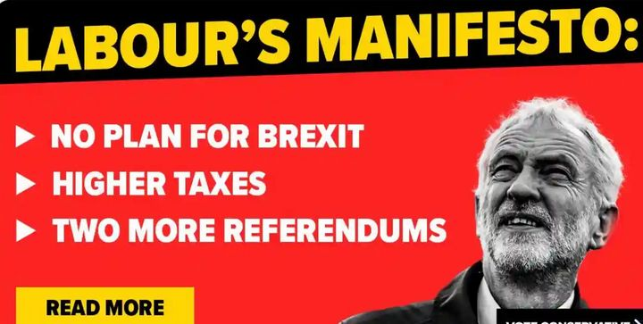 Conservatives' fake Labour policy manifesto