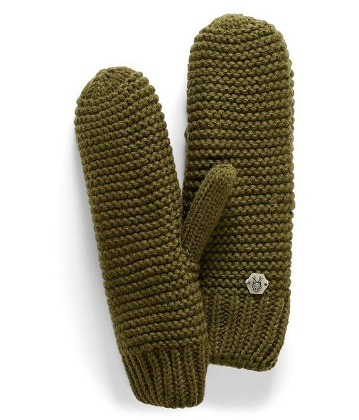 Cozy knit mittens from Simons
