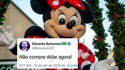 Dólar a R$ 4,25: Guedes avisa que câmbio ficará alto e sonho de ir para Disney vira
