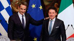 Συμφωνία Μητσοτάκη - Κόντε για διαχείριση του προσφυγικού σε ευρωπαϊκό
