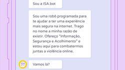 Como funciona a robô virtual que promete ajudar mulheres vítimas de violência na