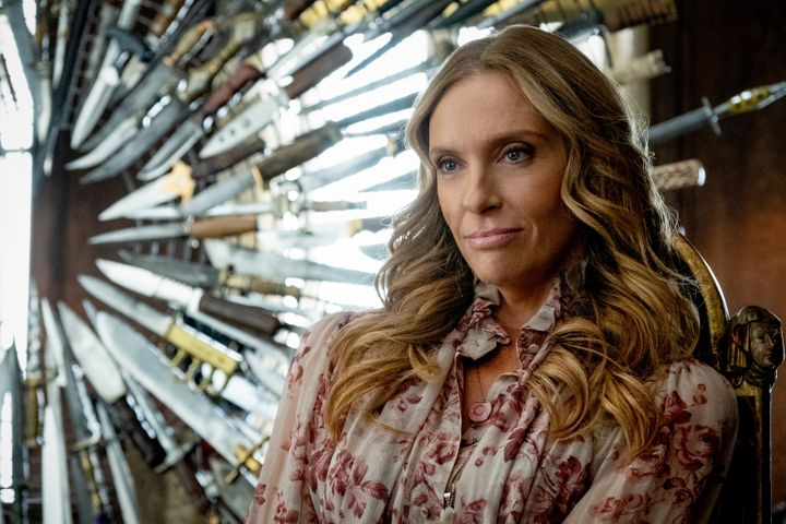 """Toni Collette in """"Knives Out."""""""