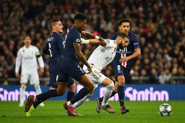 Double buteur face au PSG, Karim Benzema n'a cependant pas donné la victoire au Real Madrid tenu...