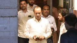 NCP's Supriya Sule Welcomes Ajit Pawar With A Hug At Oath-taking