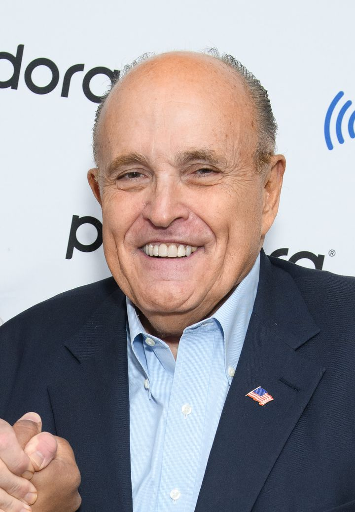 Rudy Giuliani pictured on November 1, 2019.