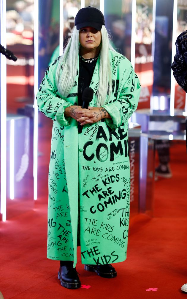 Toni Watson, aka Tones and I, arrives for the 33rd Annual ARIA Awards 2019 at The