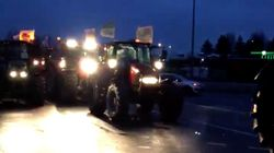 Cortèges de tracteurs, opérations devant les grandes surfaces... les agriculteurs passent à