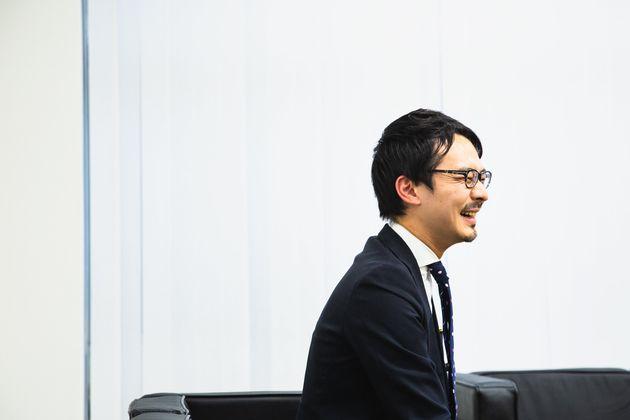 「カッコいいお父さんになるのが目標です」と語る中崎さん
