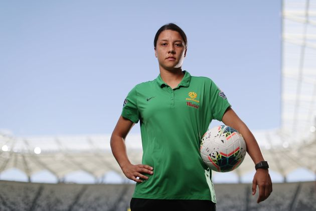 Sam Kerr of the Matildas has slammed airline
