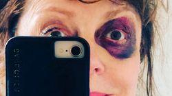 수잔 서랜던의 시퍼런 눈 사진에는 정치적 의미가 담겨