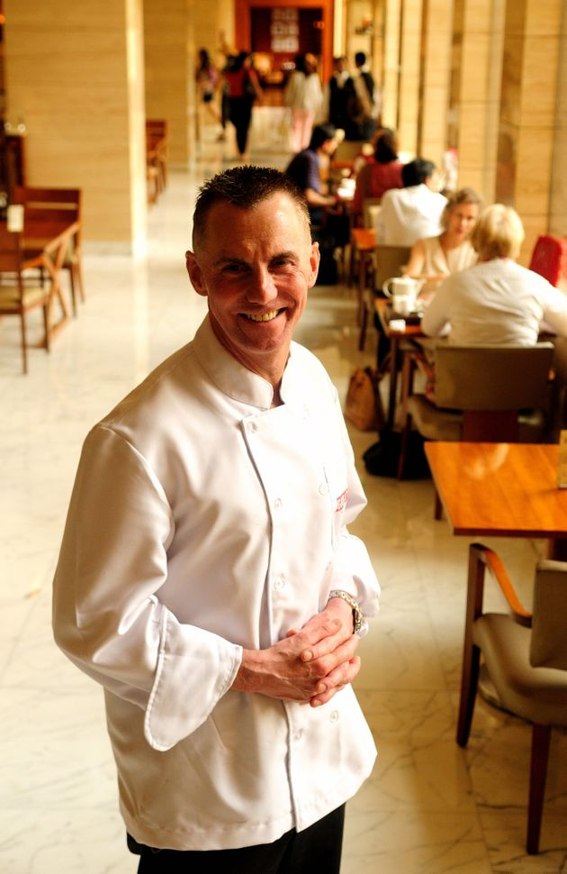 Gary Rhodes, pictured in
