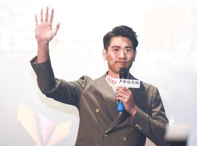 El actor taiwanés Godfrey Gao el 8 de agosto de 2019 en Suzhou,