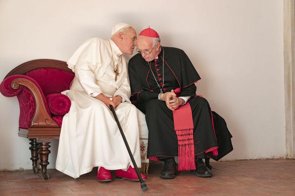 """""""Les deux papes"""" si vous comptez sécher la messe de"""