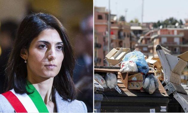 """Blitz di Virginia Raggi: """"Basta discariche a Roma"""". E ..."""