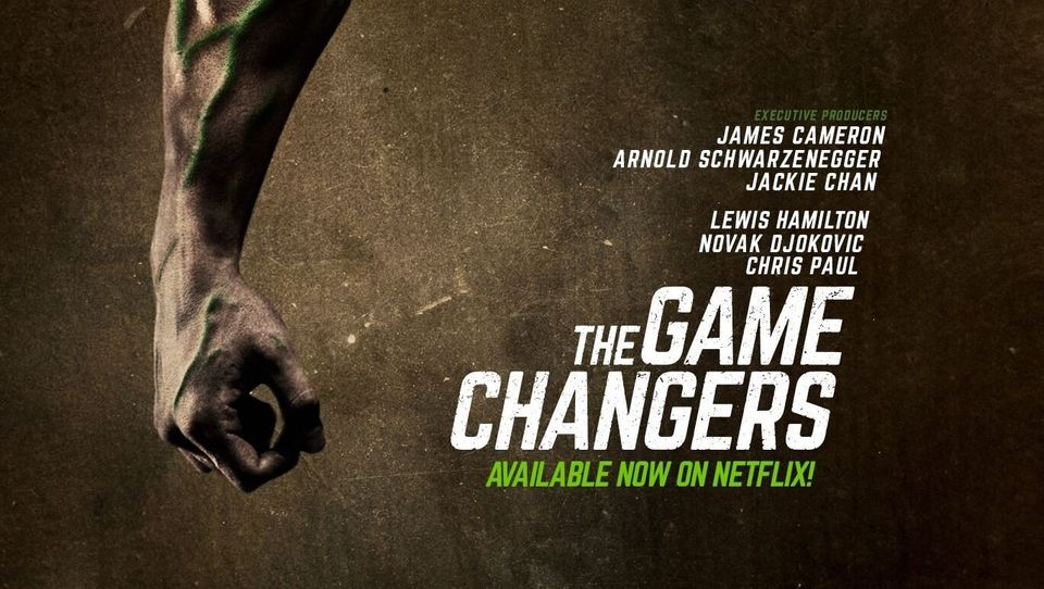 """The Game Changers"", un documentaire sur l'alimentation des grands"