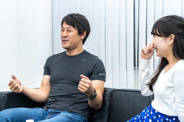 「一緒にいて楽しいかどうかが大事」と語るヨッピーさんと伊藤さん