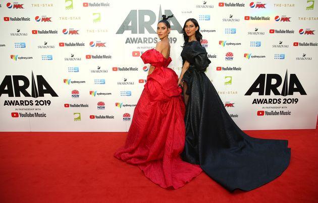 The Veronicas Lisa Origliasso and Jessica