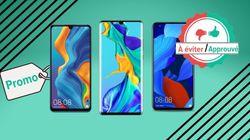 Black Friday Week: les téléphones Huawei P30 Pro et Nova 5T sont-ils à bon