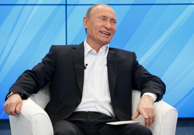 Prime Minister Vladimir Putin pictured in