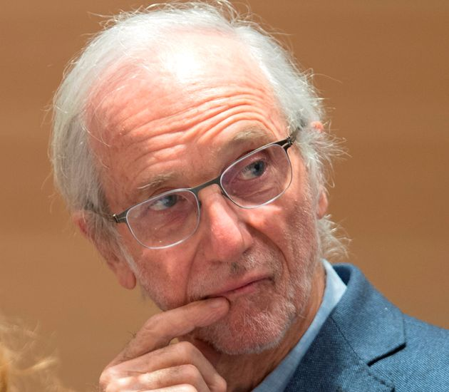 Italian architect Renzo Piano attends the inauguration ceremony of the new Paris' courthouse Monday,...