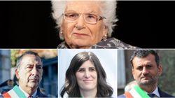 I sindaci d'Italia scendono in piazza insieme per Liliana Segre: