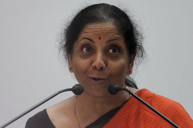 Finance Minister Nirmala Sitharaman in a file